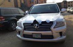 Nigeria Used Lexus LX 2011 Model Silver