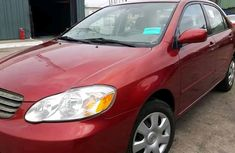 Foreign Used Toyota Corolla 2003 Model Red for Sale