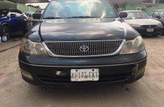 Nigeria Used Toyota Avalon 2001 Model Black for Sale
