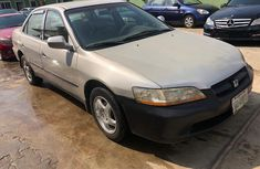 Nigeria Used Honda Accord 2001 Model Silver for Sale