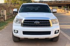 Foreign Used Toyota Sequoia 2013 Model White for Sale