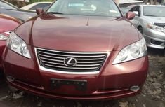 Foreign Used Lexus ES350 2008 Model Red for Sale