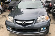 Foreign Used Acura MDX 2006 Model Black for Sale