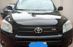 Nigeria Used Toyota RAV4 V6 2008 Model Black