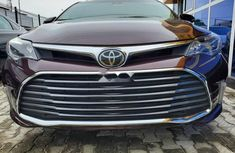 Foreign Used Toyota Avalon 2018 Model Red