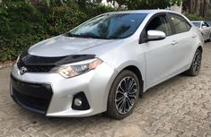 Foreign Used Toyota Corolla 2014 Model Silver