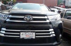 Foreign Used Toyota Highlander 2018 Model Black