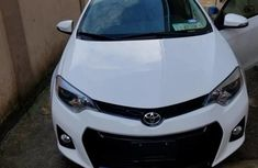 Extremely Neat Foreign used Toyota Corolla 2015