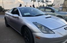 Nigeria Used Toyota Celica 2002 Model Silver