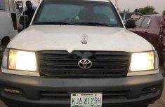 Nigeria Used Toyota Land Cruiser 2004 Model White