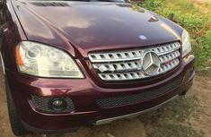 Foreign Used Mercedes-Benz ML350 2009 Model Red