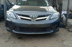 Foreign Used Toyota Corolla 2011 Model Gray