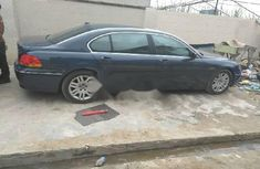 Foreign Used BMW 7 Series 2004 Model Blue