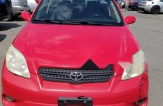 Foreign Used Toyota Matrix 2005 Model Red