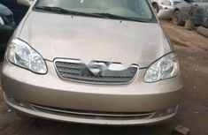 Extremely Neat Foreign used Toyota Corolla 2007