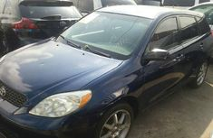Foreign Used Toyota Matrix 2004 Model Blue