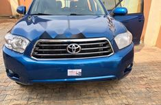 Extremely Neat Foreign used Toyota Highlander 2008