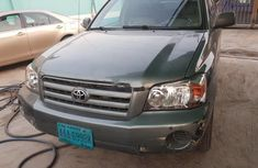 Nigeria Used Toyota Highlander 2005 Model Green