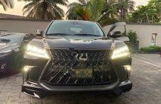 Nigeria Used Lexus 570 2018 Model Black