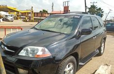 Nigeria Used Acura MDX 2005 Model Black