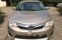 Foreign Used Toyota Camry 2014 Model Gold