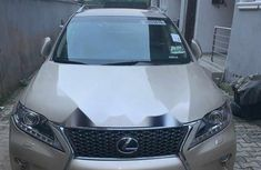 Foreign Used Lexus RX 2015 Model Gold