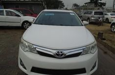 Foreign Used Toyota Camry 2012 Model White