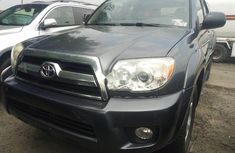 Foreign Used Toyota 4-Runner 2008 Model Gray