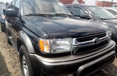 Foreign Used Toyota 4-Runner 2002 Model Black