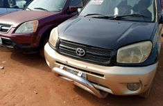 Nigeria Used Toyota RAV4 2004 Model Black
