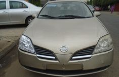 Foreign Used Nissan Primera V4 2004 Model Gold for Sale
