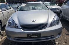 Foreign Used Lexus ES330 2006 Model Silver for Sale