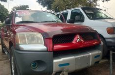 Foreign Used Mitsubishi Pickup 2007 Model Red for Sale