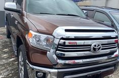 Foreign Used Toyota Tundra Pickup 2016 Model Brown