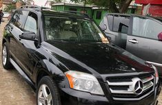 Foreign Used Benz GLK 2010 Model Black for Sale