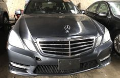 Foreign Used Mercedes Benz E350 2013 Model Gray