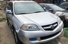 Foreign Used Acura MDX 2006 Model Silver for Sale