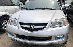 Foreign Used Acura MDX 2005 Model Silver for Sale