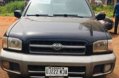 Nigeria Used Nissan Pathfinder 2002 Model Black for Sale