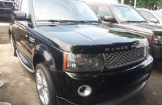 Foreign Used Land Rover Range Rover Sport 2011 Model Black