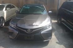 Foreign Used Toyota Camry 2018 Model Gray