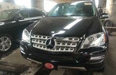 Tokunbo Mercedes-Benz ML350 2010 Model Black