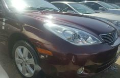 Foreign Used Lexus ES 2005 Model Red