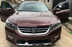 Foreign Used Honda Accord 2013 Model Red