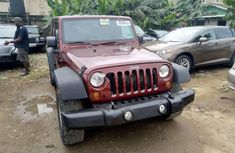 Foreign Used Jeep Wrangler 2008 Model Red