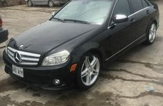 Foreign Used Mercedes-Benz C300 2008 Model Black