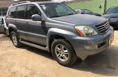 Nigeria Used Lexus GX 2004 Model Gray