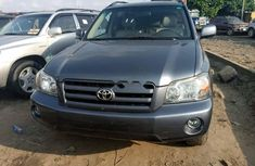 Tokunbo Toyota Highlander 2004 Model Gray