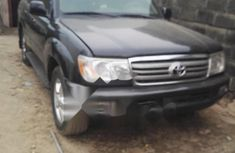 Nigeria Used Toyota Land Cruiser 2006 Model Black