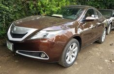 Nigeria Used Acura ZDX 2012 Model Brown